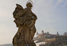 Sculpture of an Angel Royalty Free Stock Images