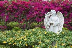 Sculpture of angel Stock Photos