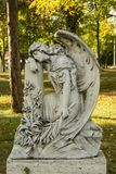 Sculpture of angel Royalty Free Stock Image