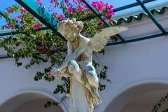 Sculpture Angel. Rhodes Island - Greece, Kallithea Springs. stock photography