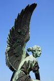 Sculpture of Angel in the Sanssouci Park. Royalty Free Stock Image
