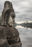 Sculpture in Angkor Wat Royalty Free Stock Image