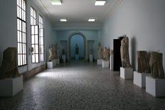 Sculpture antique dans la ville de Kos Photos libres de droits