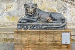 Sculpture antique de Lyon Photos libres de droits