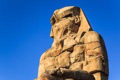 Sculpture antique de memnon de colosse Photo libre de droits