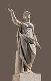 Sculpture antique en Leto Photo stock