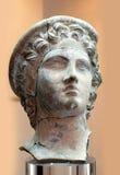 Sculpture antique en terre cuite Photo stock