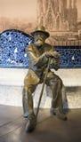 Sculpture by Antonio Gaudi Royalty Free Stock Photo