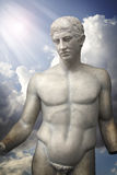 Sculpture of Apollo, classic Greek art Royalty Free Stock Photo