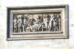 Sculpture, Arc de Triomphe, Paris, France, Europe Royalty Free Stock Photos