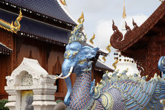 Sculpture, architecture and symbols of Buddhism. Thailand, South East Asia Stock Photo