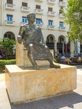 Sculpture of Aristotle. royalty free stock images