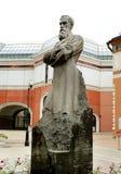 Sculpture art patron Tretyakov Stock Image
