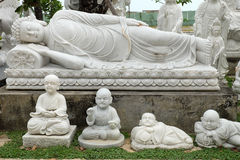 Sculpture art, statue product for feng shui. DA NANG, VIET NAM- FEB 18, 2016: Sculpture art at Ngu Hanh Son, group of amazing shape for feng shui make from stone royalty free stock photography
