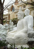 Sculpture art, statue product for feng shui. DA NANG, VIET NAM- FEB 18, 2016: Sculpture art at Ngu Hanh Son, group of amazing shape for feng shui make from stone stock images