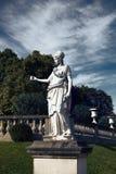 sculpture of Artemis in paris royalty free stock photos