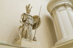 Sculpture of Athena in the Pushkin Museum Stock Photography