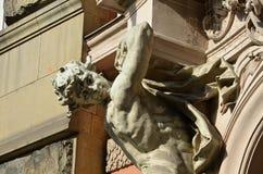 Sculpture of Atlant Stock Photos