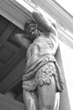 Sculpture Atlant. The New Hermitage. Royalty Free Stock Photos