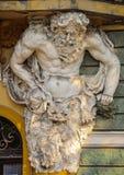 Sculpture of Atlas Stock Photography