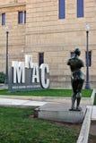 Sculpture au Musée National de l'art catalan sur le bâti Montjuic Images libres de droits