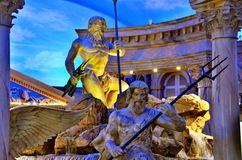 Sculpture aux boutiques de forum Photo libre de droits