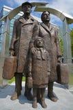 """""""Sculpture av den grekiska Immigrant†en Royaltyfri Fotografi"""