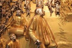 Sculpture in the Balaram Mandir Royalty Free Stock Images