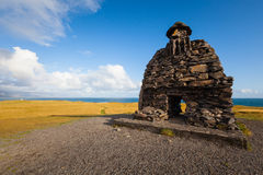 Sculpture of Bardur in the Snaefellsness peninsula, West Iceland Stock Photos
