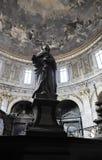 Sculpture in the Basilica della Santissima Annunziata Royalty Free Stock Images
