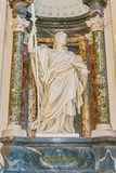 Sculpture in Basilica of Saint John Lateran in Rome, Italy. Royalty Free Stock Photo