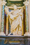 Sculpture in Basilica of Saint John Lateran in Rome, Italy. Stock Photography