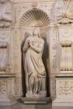 Sculpture Basilica - Vatican, Italy Stock Photography