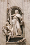 Sculpture Basilica - Vatican, Italy Royalty Free Stock Image