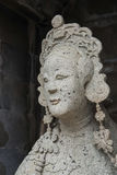 Sculpture of the beautiful ancient Chinese women Royalty Free Stock Photography