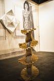 Sculpture.Begins 2014 ACRO, die internationale zeitgenössische Kunst F Lizenzfreies Stockfoto