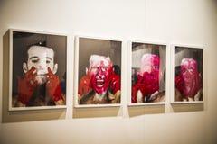 Sculpture.Begins 2014 ARCO, l'art contemporain international F Images libres de droits