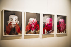 Sculpture.Begins 2014 ARCO, l'arte contemporanea internazionale F Immagini Stock Libere da Diritti