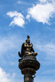 The sculpture in bhaktapur durbar square , nepal Royalty Free Stock Photos