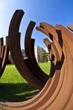 Sculpture biennale �Blickachsen� Royalty Free Stock Photos
