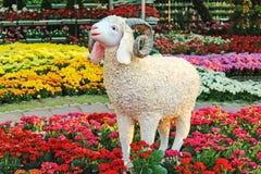Sculpture Of A Bighorn Ram stock image