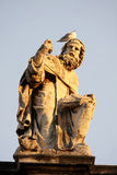 Sculpture with bird, Vatican, Rome Stock Images