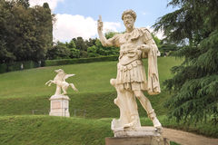 Sculpture in the Boboli gardens. Florence, Italy Royalty Free Stock Photo