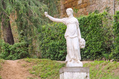 Sculpture in the Boboli gardens. Florence, Italy Stock Photo