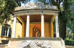 Sculpture in the Boboli gardens. Florence, Italy Stock Image