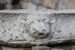Sculpture in Bodrum Castle Stock Photography