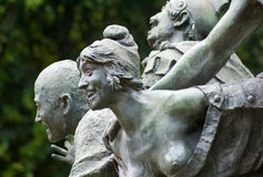 A sculpture at the Botanical Gardens in Buenos Air Stock Photography