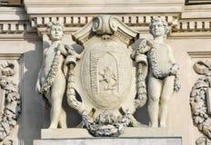 Sculpture boys geniuses Royalty Free Stock Image