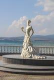 Sculpture of bride in Gelendzhik Stock Photography