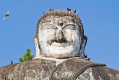 Sculpture of buddha Royalty Free Stock Images